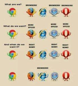 navegador web meme